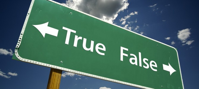 HOW TO FIND THE STRAIGHT WAY YOU LOST: CAN YOU CORRECT A FALSE PATH?